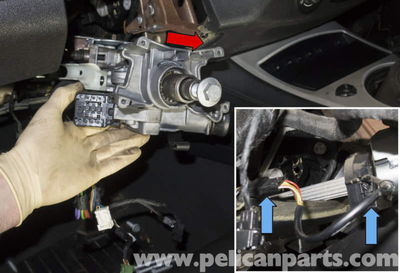 Bmw Z4 M Steering Column And Steering Angle Sensor