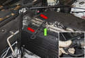 Replacing sensors before catalytic converter: Oxygen sensors are located in the exhaust manifold.