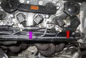 Replacing sensors after catalytic converter: Oxygen sensors are located in the exhaust, behind the catalytic converters.