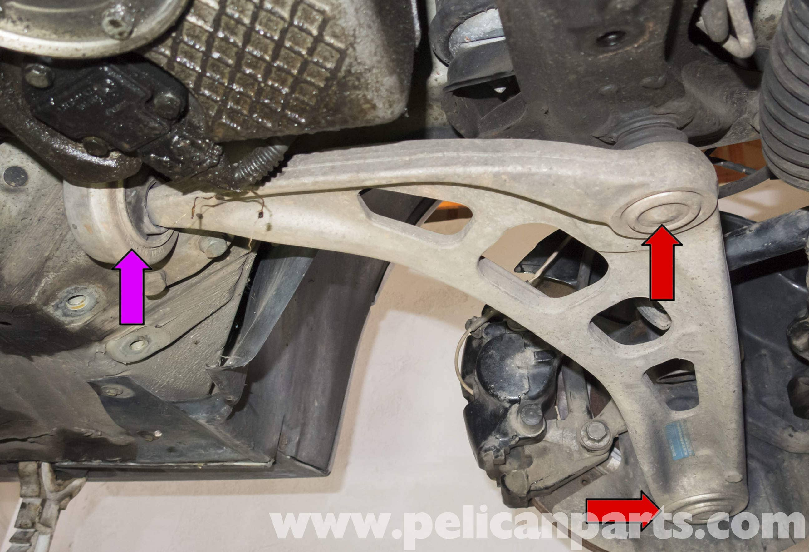 Bmw Z4 M Front Control Arm Replacement 2003 2006