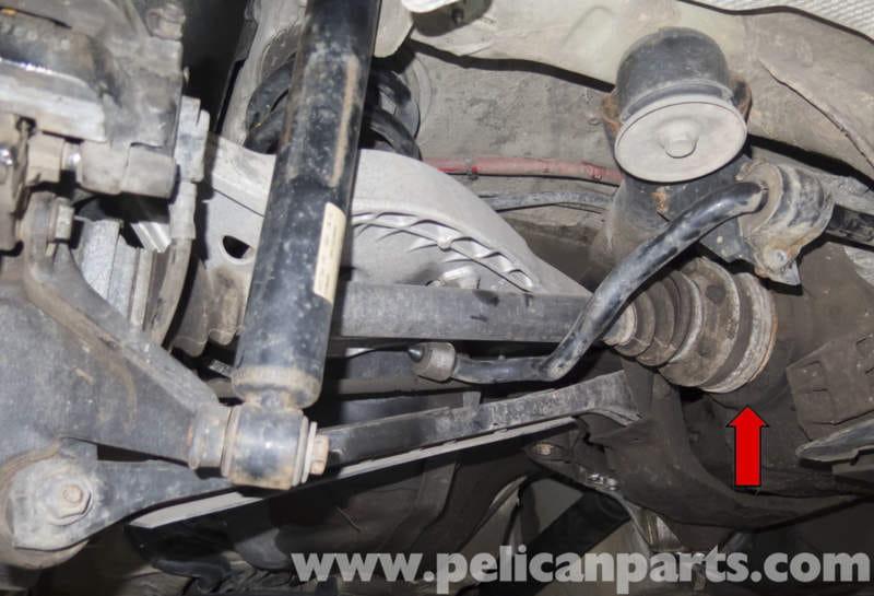 Bmw Z4m Rear Drive Axle Seal Replacement E85 2003 2008