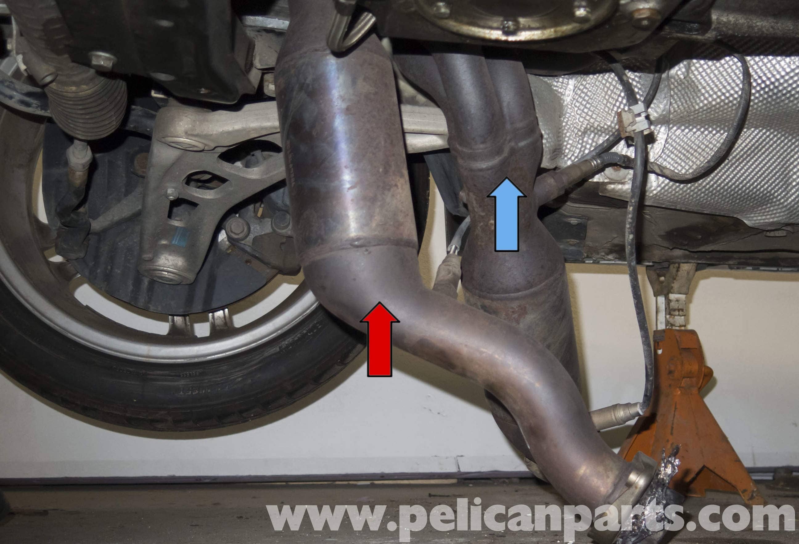 Bmw S54 Engine Catalytic Converter Replacement E46 M3