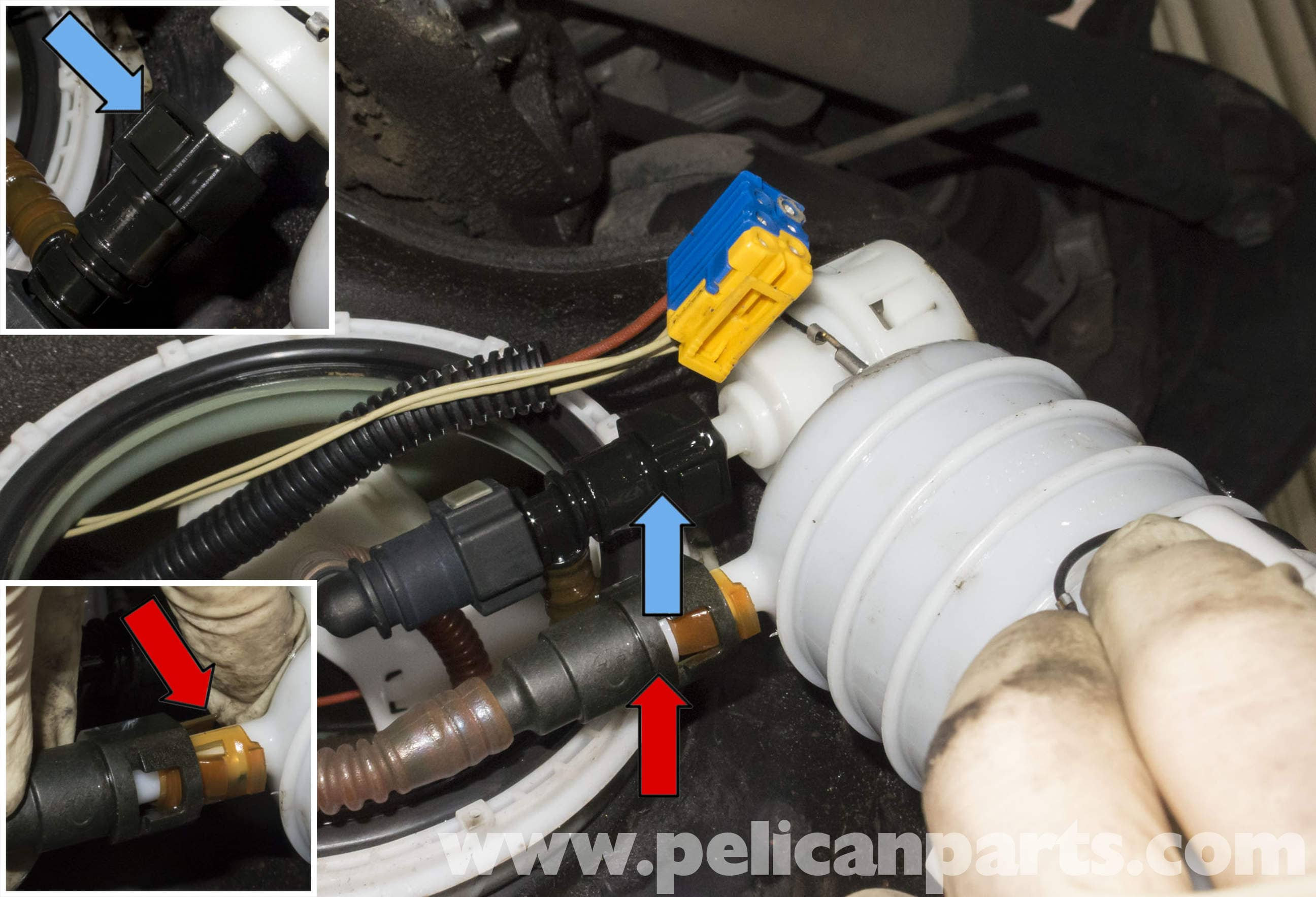 pic15 bmw z4m fuel filter replacement e85 (2003 2008) pelican parts