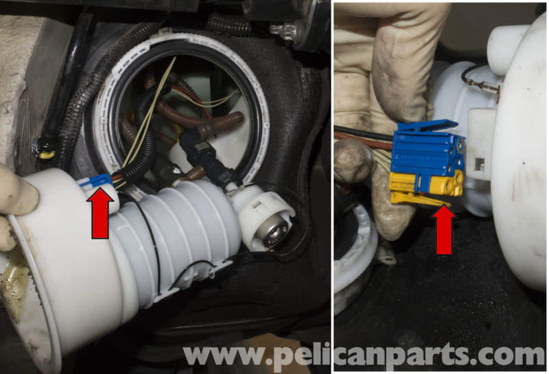 bmw z4m fuel filter replacement e85 (2003 2008) pelican parts BMW X3 Idle Air Control Valve Location