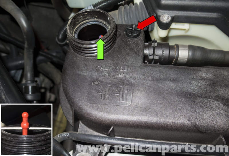 Bmw Z4 M Draining And Filling Cooling System 2003 2006 Pelican Parts Diy Maintenance Article