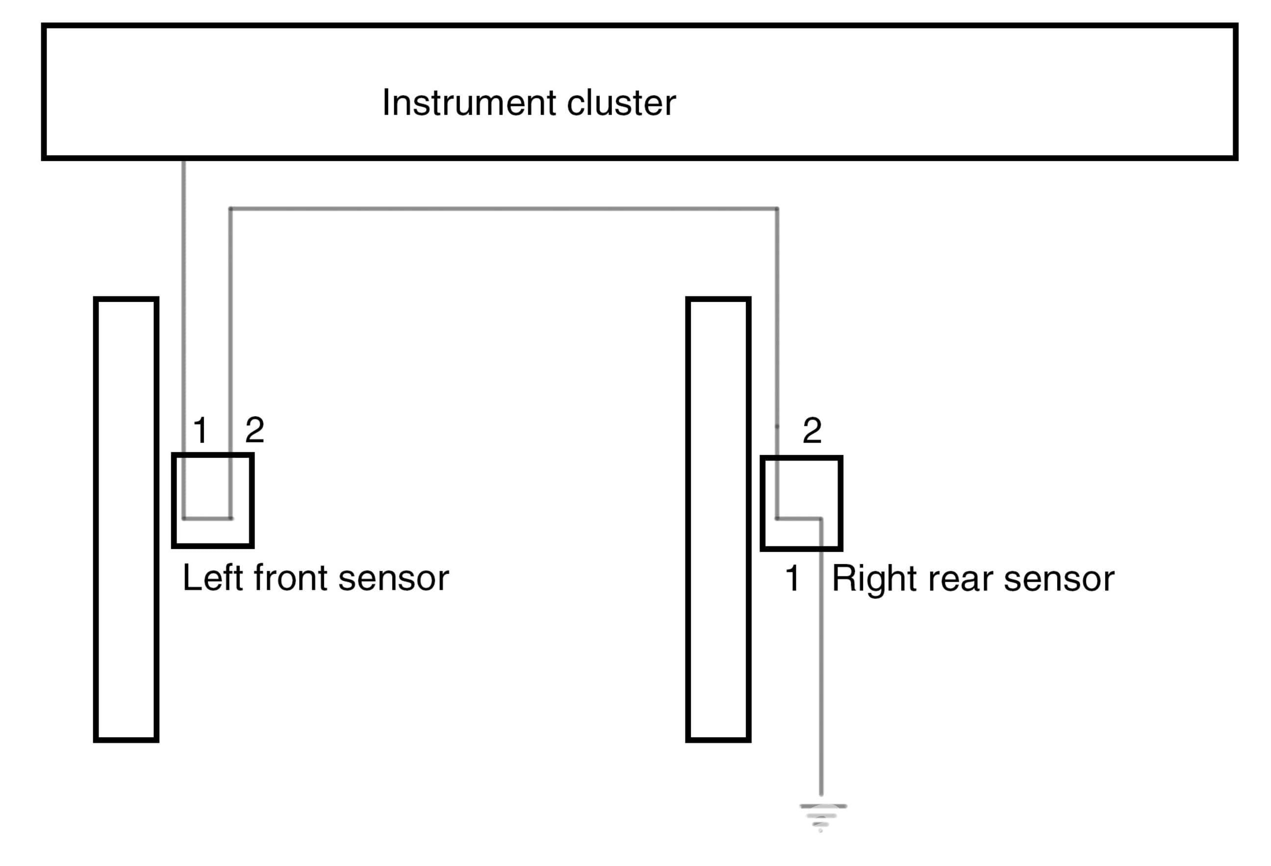 bmw z4m brake pad sensor testing e85 2003 2008. Black Bedroom Furniture Sets. Home Design Ideas