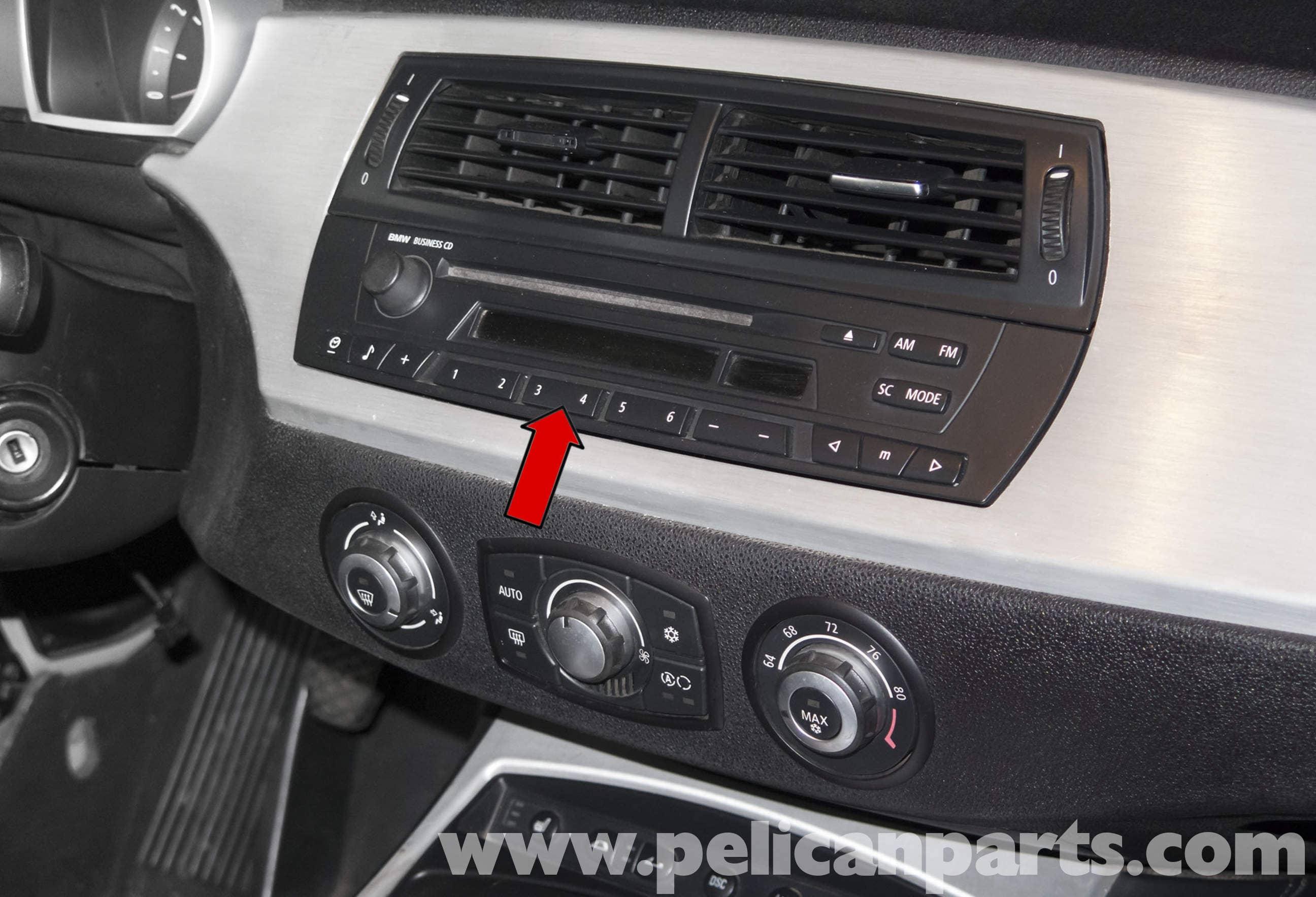 bmw z4m radio replacement e85 2003 2008 pelican parts diy rh pelicanparts com Car Radio BMW Business CD BMW Business Radio
