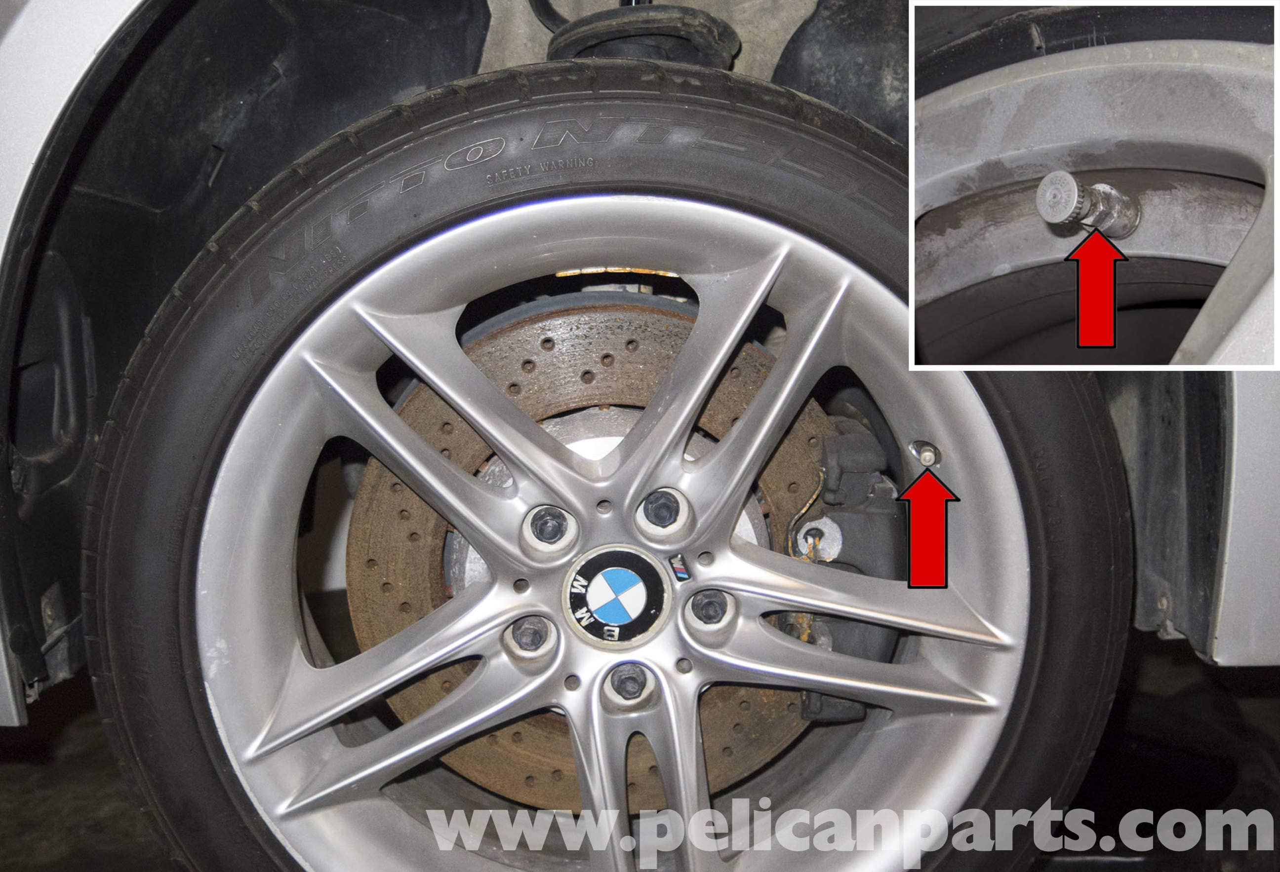 Bmw Z4 M Tire Pressure Monitoring 2003 2006 Pelican Parts Diy Maintenance Article