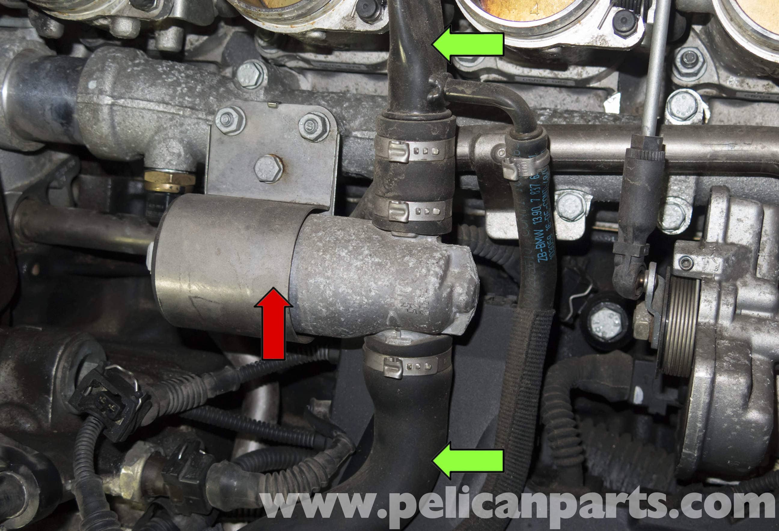 Bmw Z4 M S54 6 Cylinder Idle Control Valve Replacement 2003 2006 Pelican Parts Diy