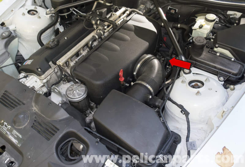 Bmw Z4m S54 6cylinder Starter Replacement 20032006 Pelican Rhpelicanparts: 2005 Bmw Z4 Engine Diagram At Elf-jo.com