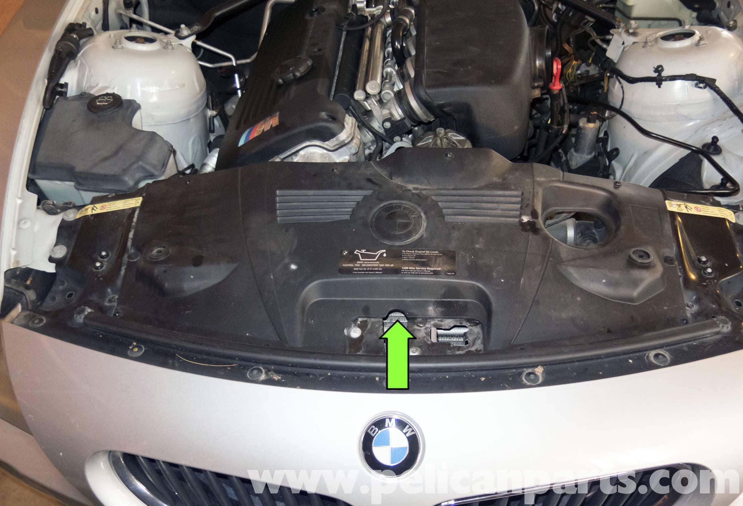 Bmw Z4 M Radiator Replacement 2003 2006 Pelican Parts Diy Maintenance Article