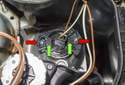 Front Driving Light: Rotate the bulb holder 45° and remove it from the headlight.