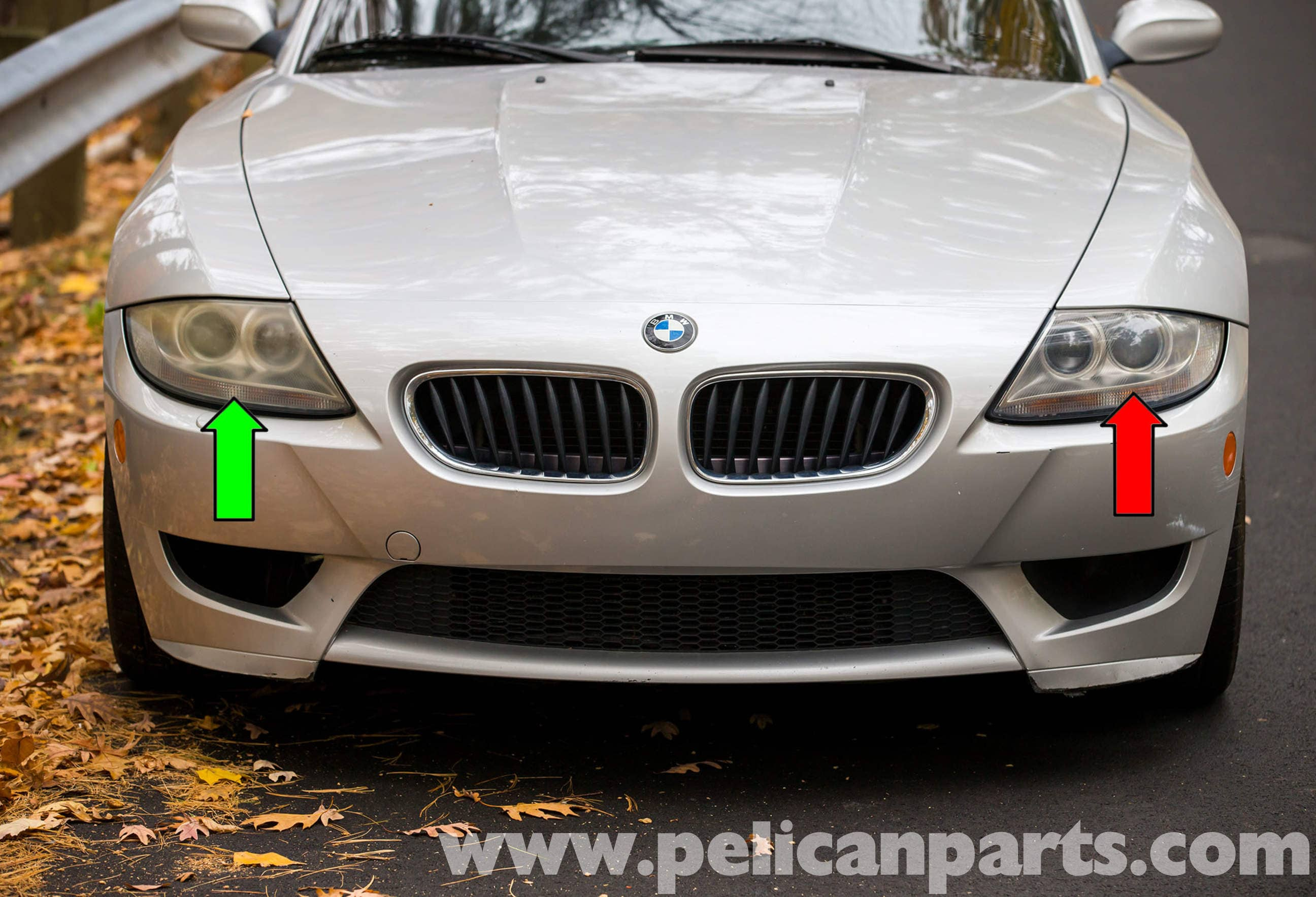 Bmw Z4 M Xenon Headlight Replacement 2003 2006 Pelican Parts