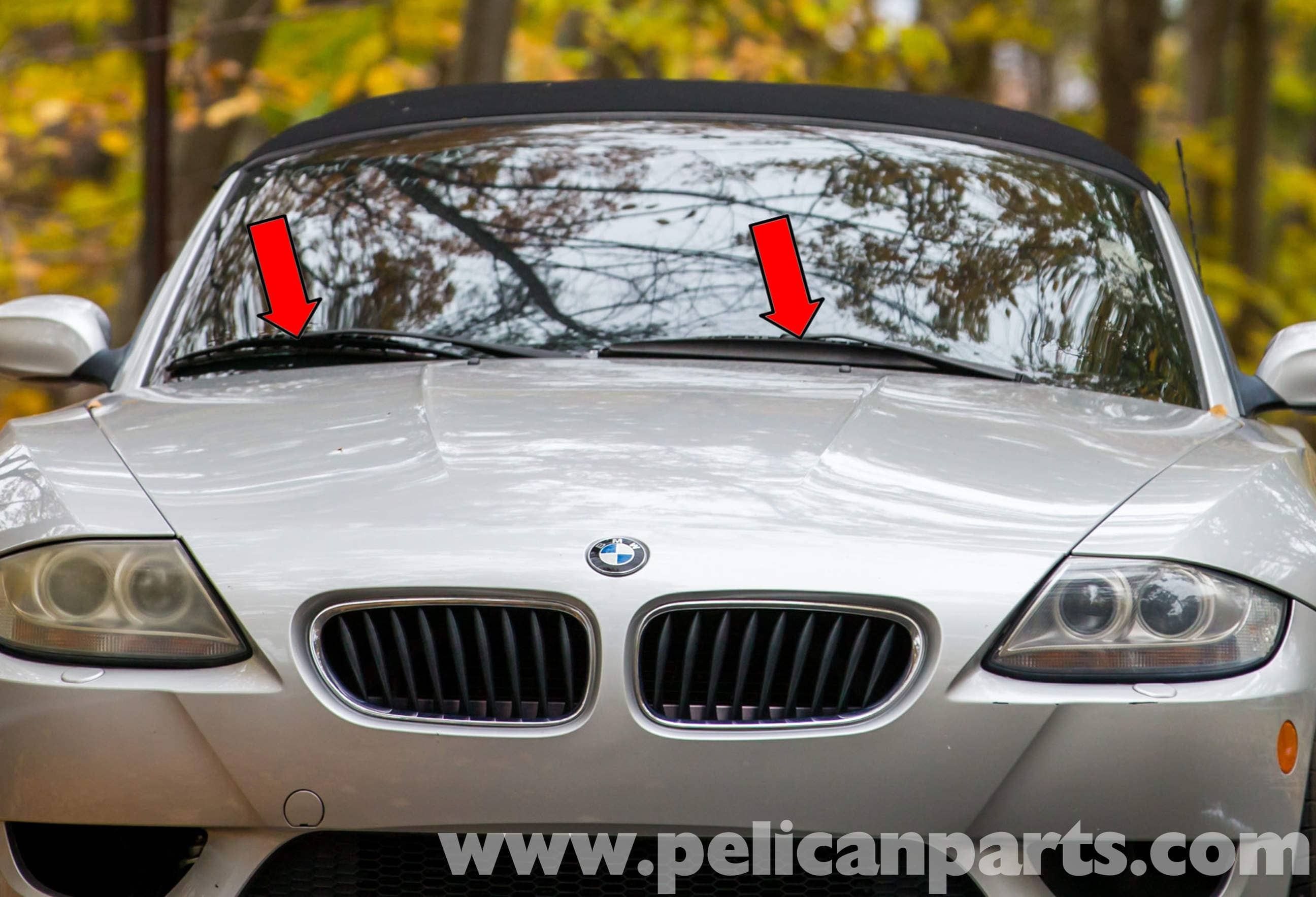 BMW Z4-M Wiper Component Replacement | 2003-2006 | Pelican Parts ...