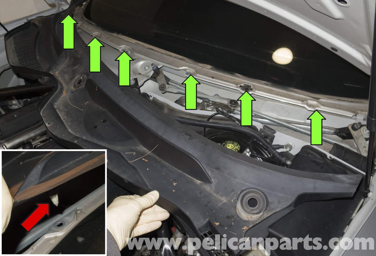 Bmw Z4 M Wiper Component Replacement 2003 2006 Pelican