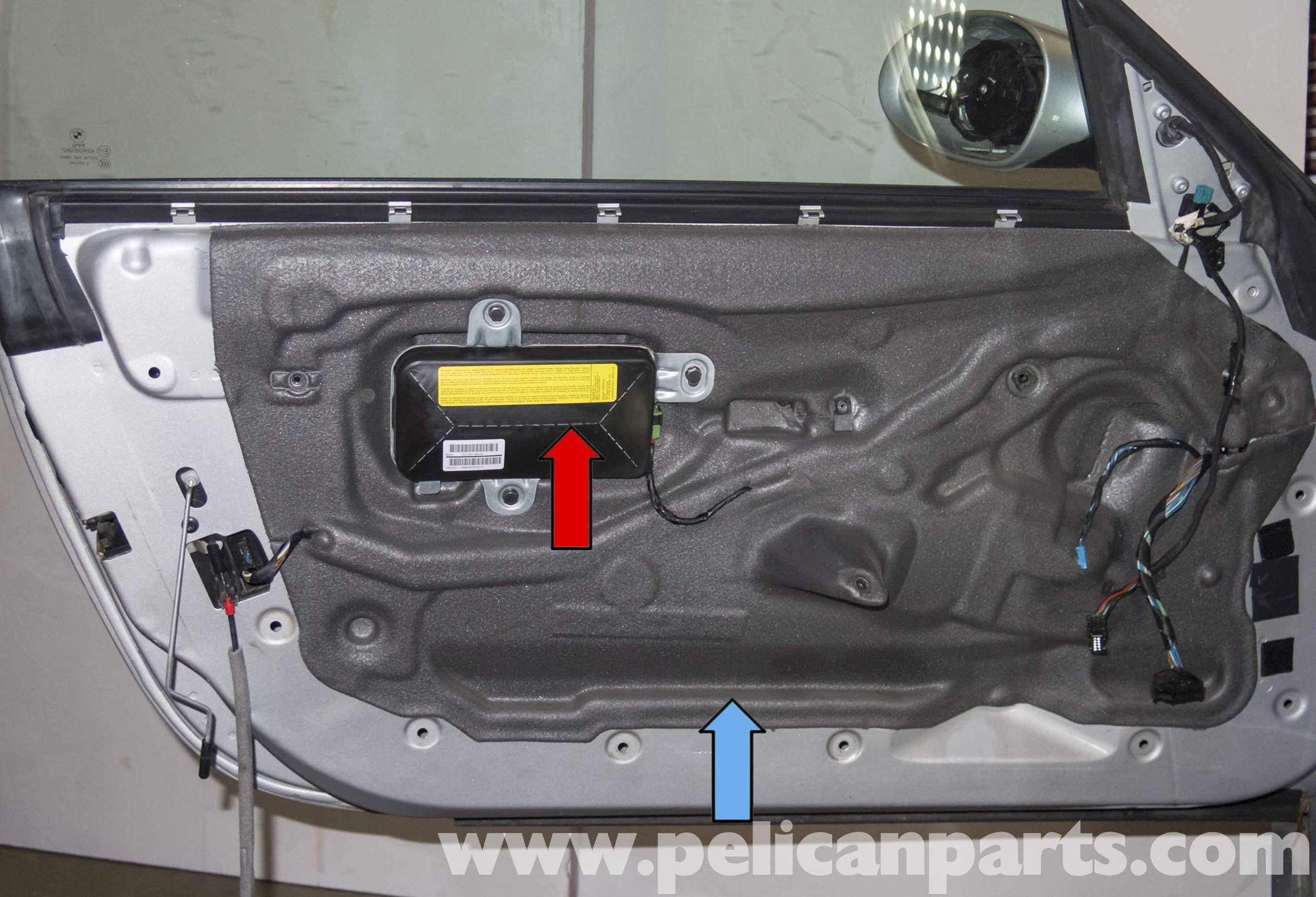 Bmw Z4 M Door Latch Replacement 2003 2006 Pelican Parts Diy Maintenance Article