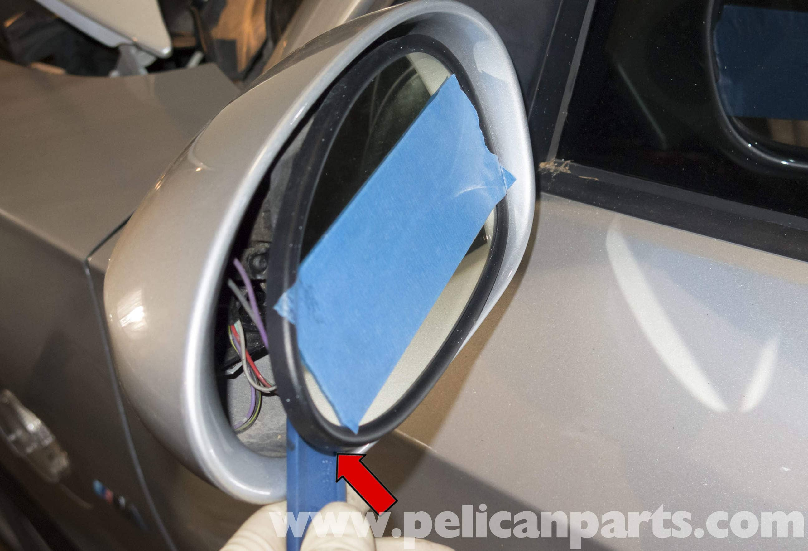 bmw z4 m exterior mirror replacement 2003 2006 pelican male female wire connectors