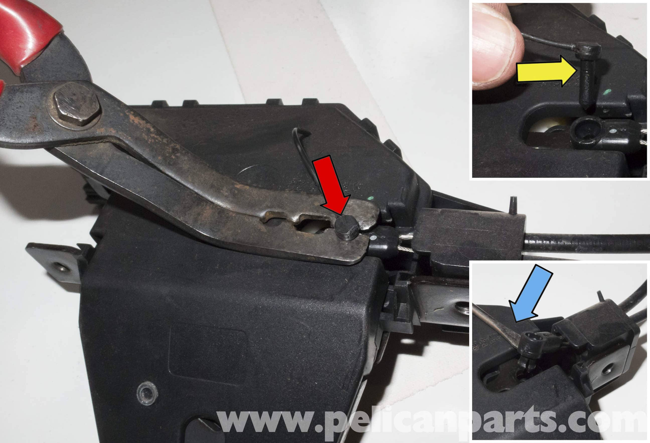 bmw z4 m trunk lock cylinder and latch replacement 2003 2006
