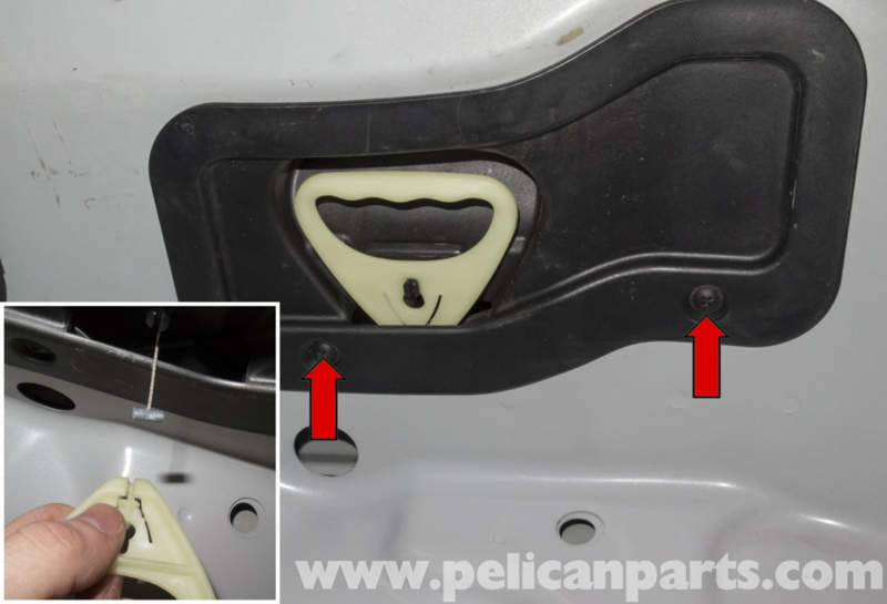 Bmw Z4 M Trunk Lock Cylinder And Latch Replacement 2003