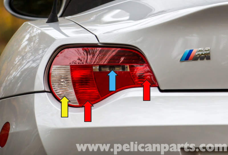 Bmw Z4 M Tail Light Replacement 2003 2006 Pelican