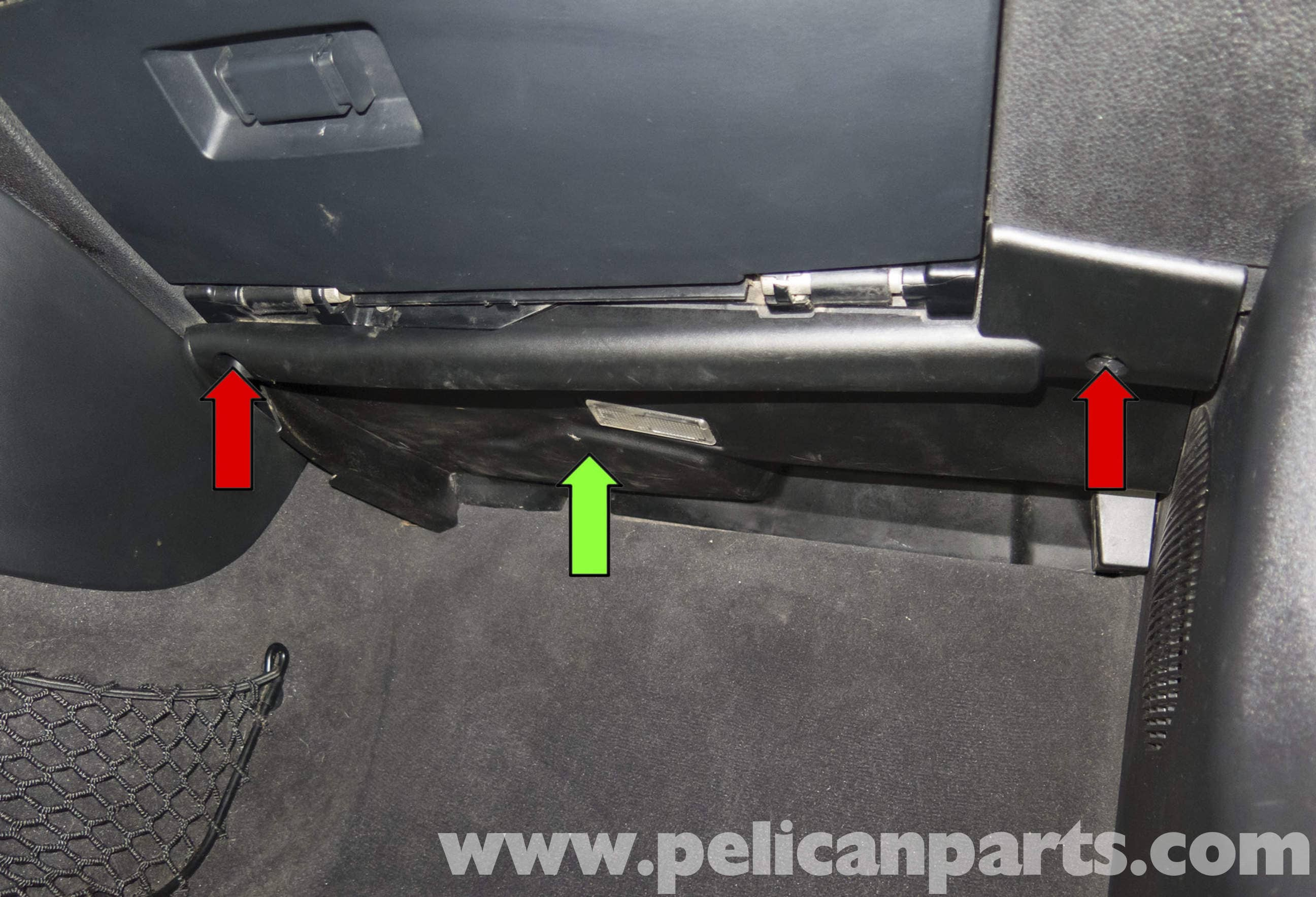 BMW Z4-M Right Lower Instrument Panel Trim and General