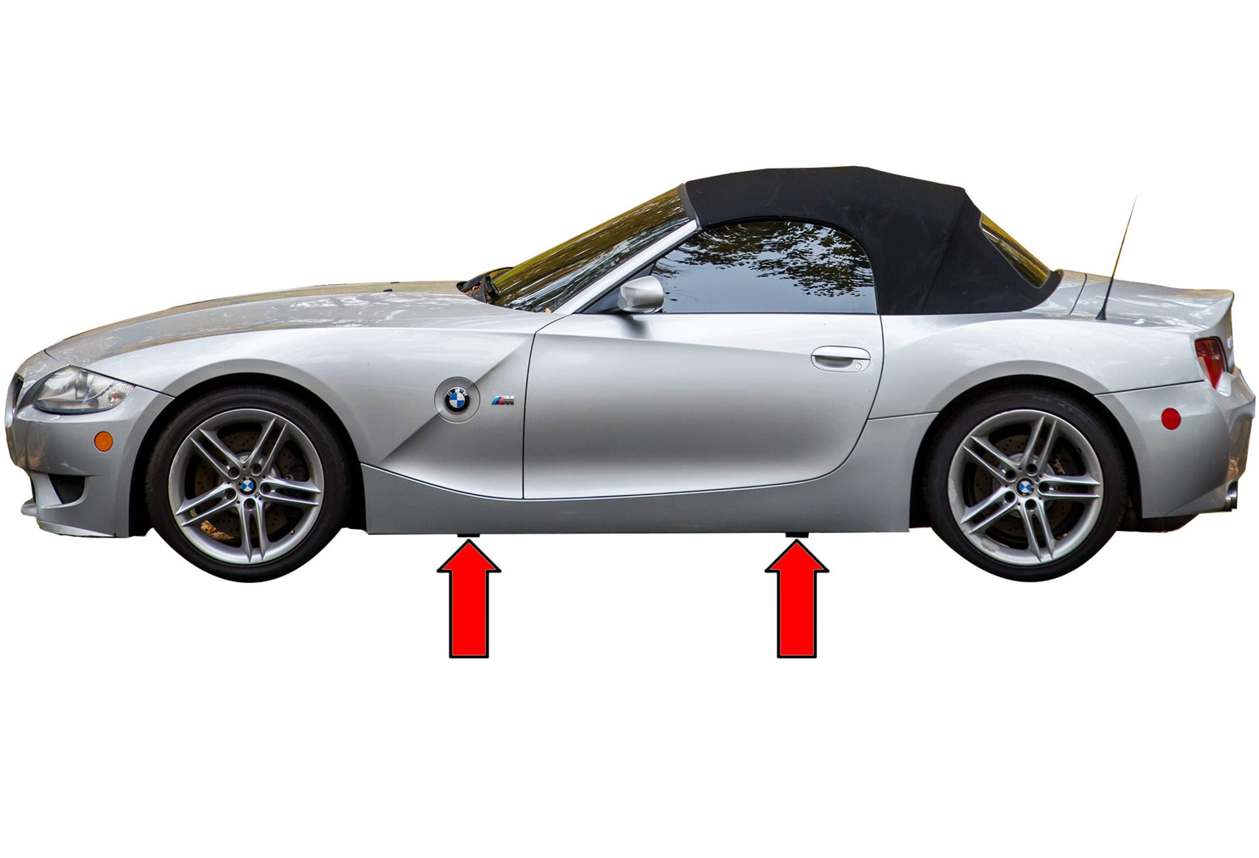 Bmw Z4 M Jacking Up Your Vehicle 2003 2006 Pelican Parts Diy Maintenance Article