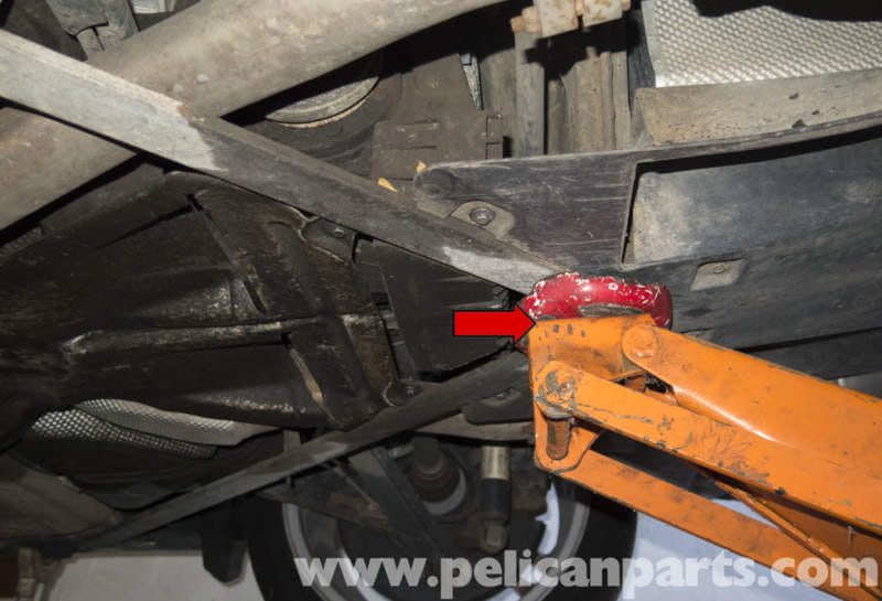 Bmw Z4 M Jacking Up Your Vehicle 2003 2006 Pelican