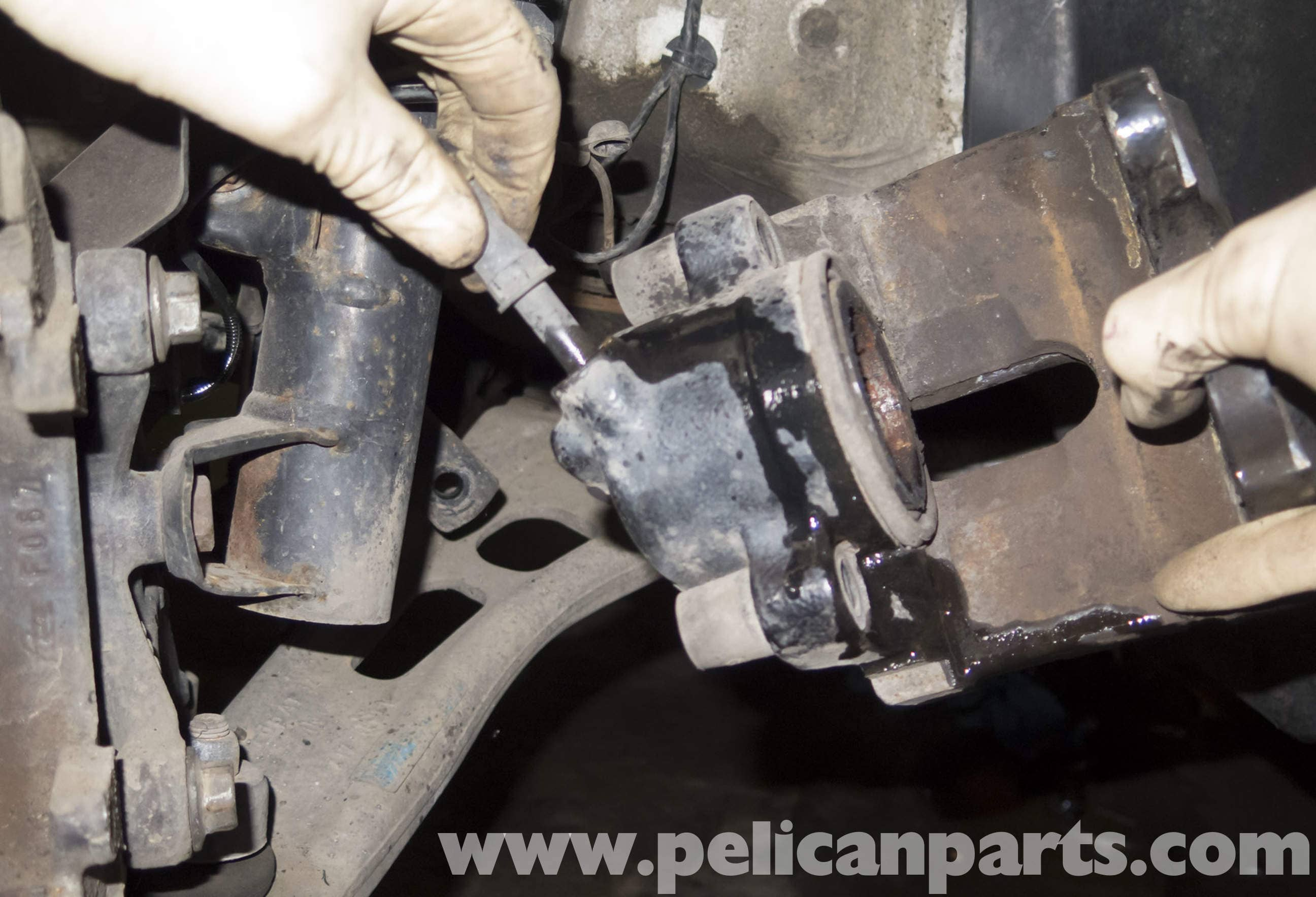 Bmw Z4 M Brake Caliper And Hose Replacement 2003 2006