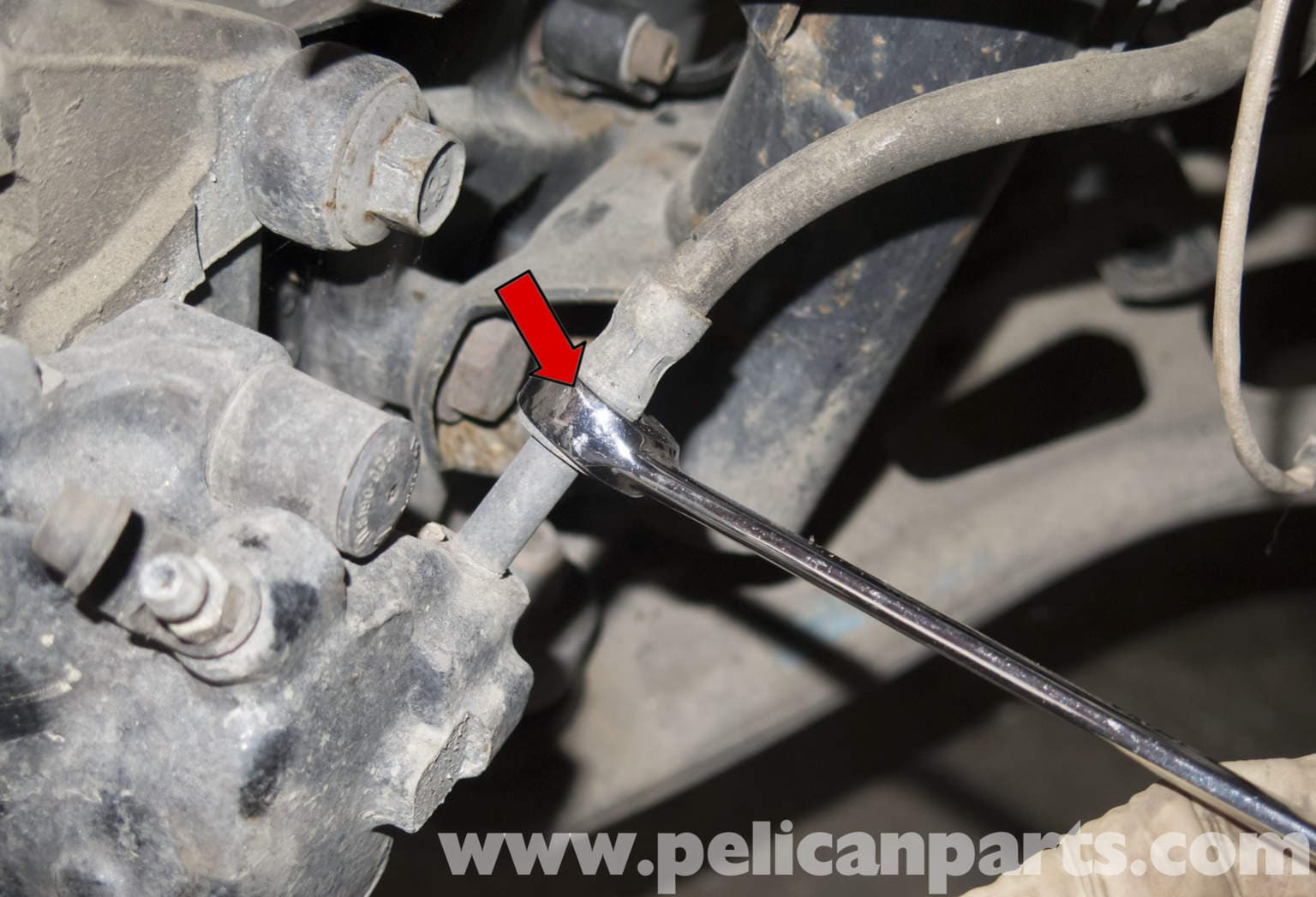 Bmw Z4 M Brake Caliper And Hose Replacement 2003 2006 Pelican Parts Diy Maintenance Article