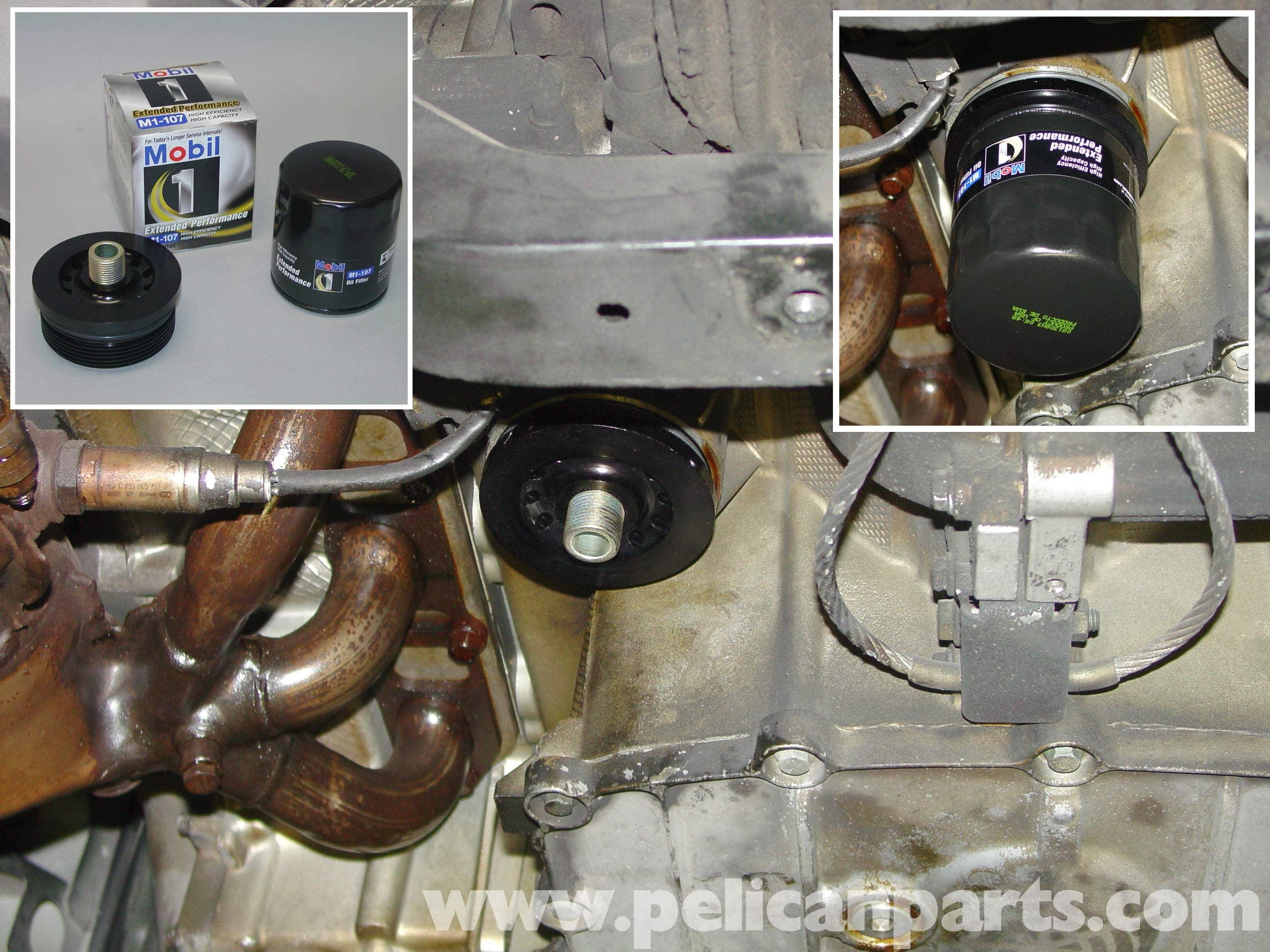 Porsche Boxster Oil Change 986 987 1997 08 Pelican