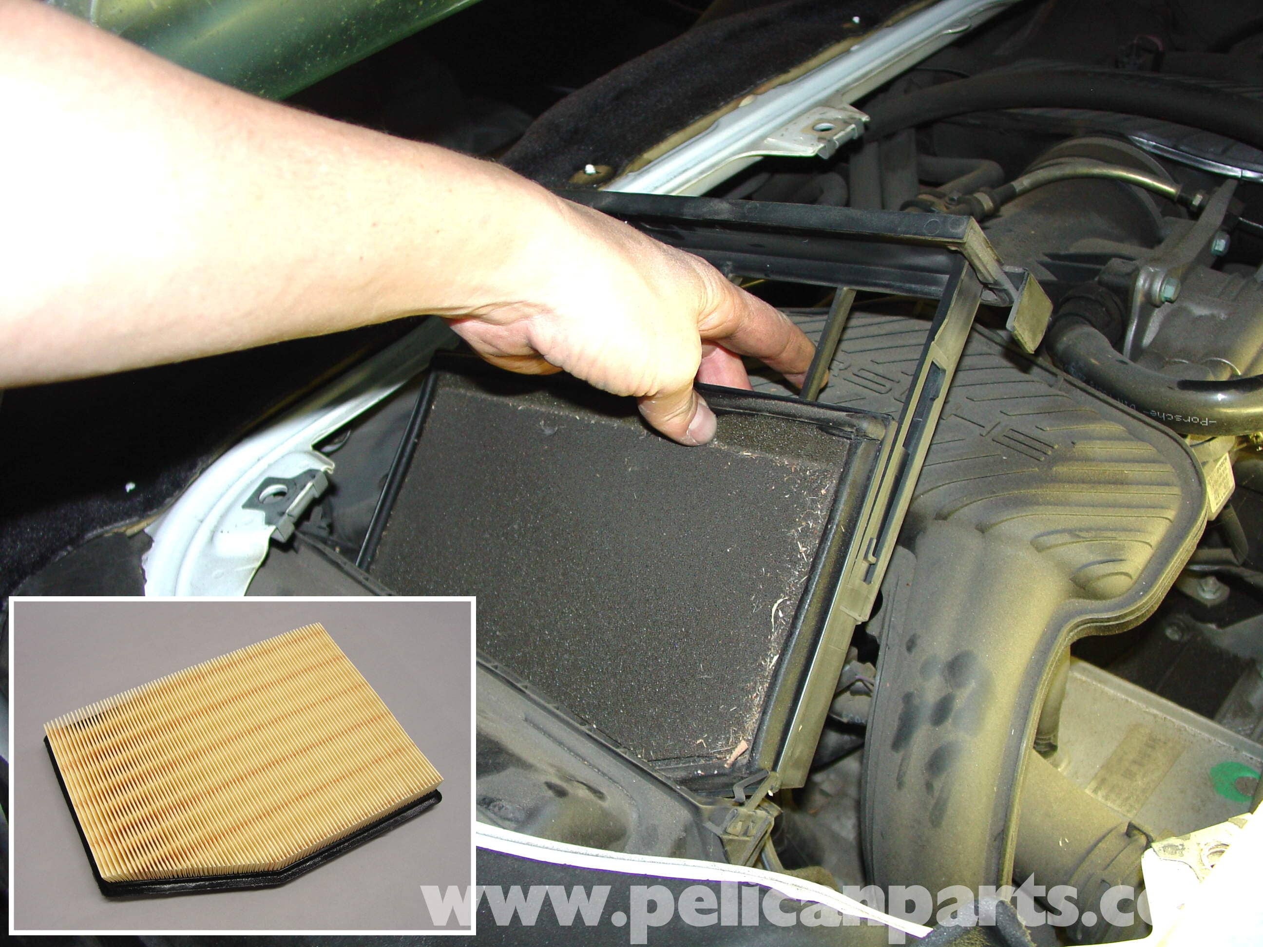 Porsche Boxster Air Filter Direction And Engine Access Beatthebush
