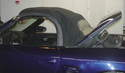 In order to gain access to the engine compartment on the Boxster, you need to place the convertible top into the â€Ã...