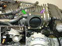 Shown here is the stock configuration of the throttle body for the Carrera 996 cable-driven engine.