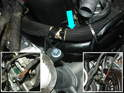 Install and route the engine wire harness following how it was installed on your Boxster motor.