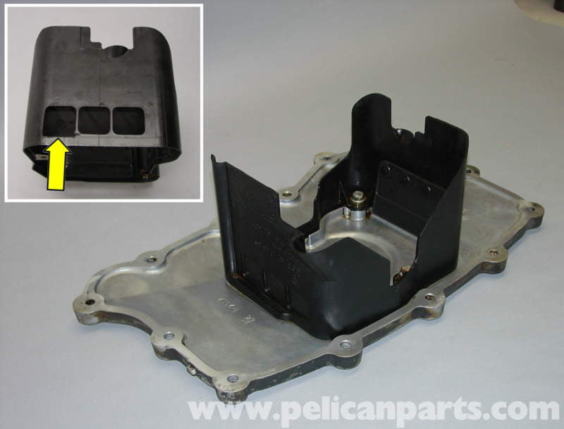 Porsche Boxster Oil Pan Gasket Replacement Boxster Deep