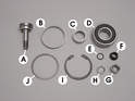 This photo shows some of the parts contained in the