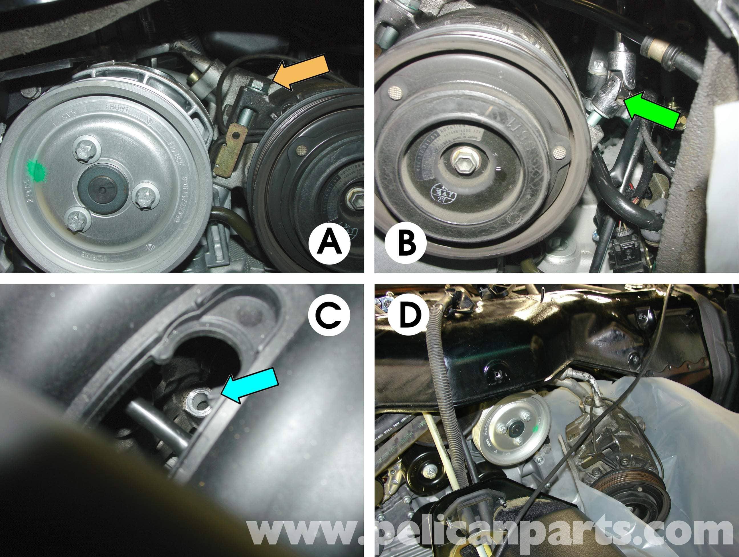 Porsche Boxster Engine Drop Removal 986 987 1997 08 Vacuum Diagram Large Image Extra