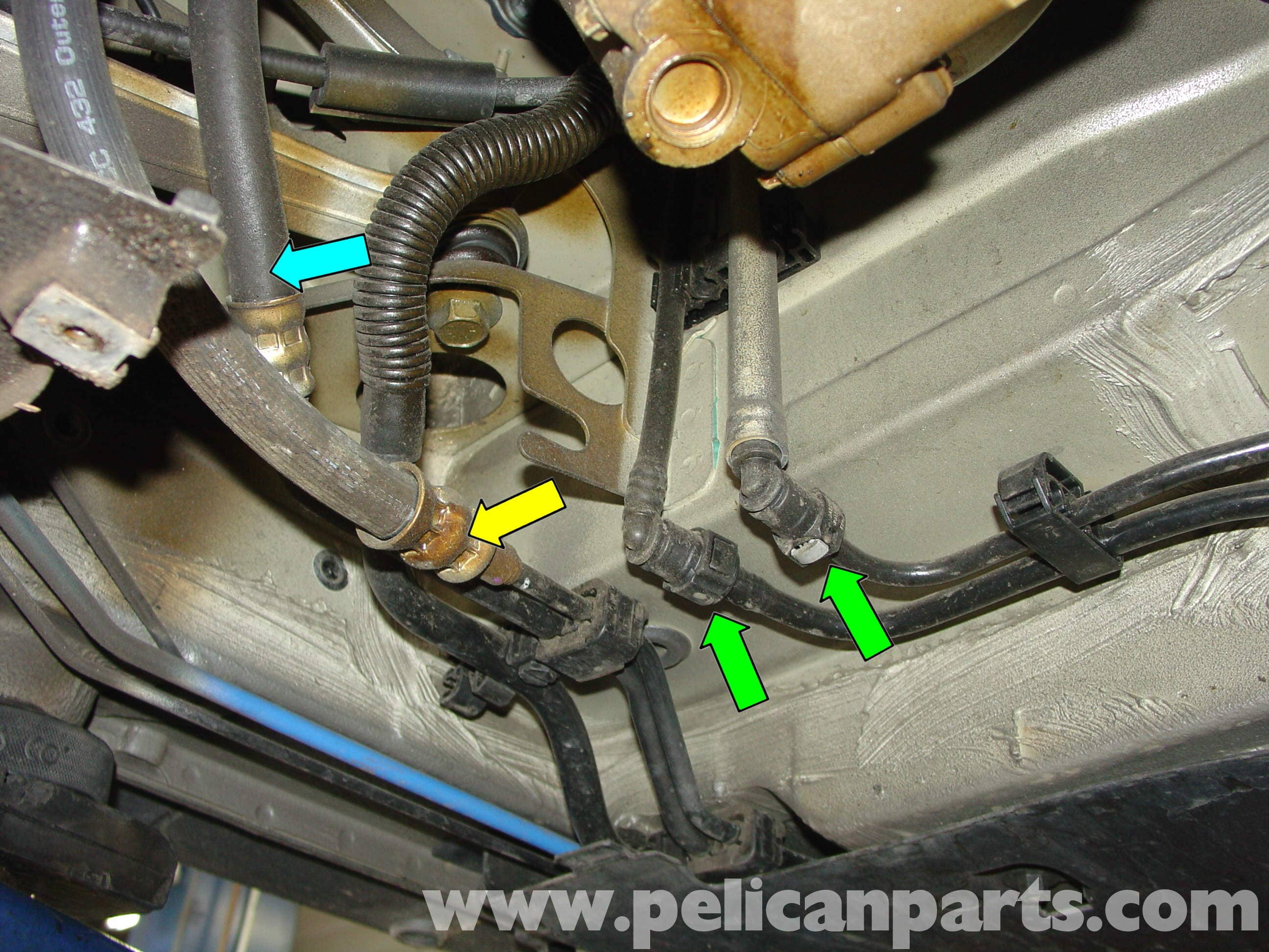 Porsche Boxster Engine Drop Removal 986 987 1997 08 2000 Diagram Large Image Extra