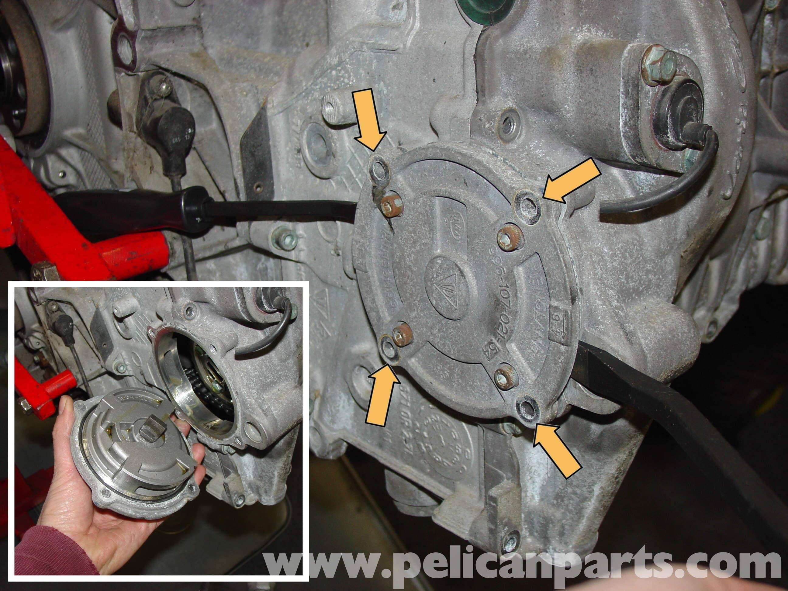 Porsche Boxster Camshaft Upgrade Chain Tensioner