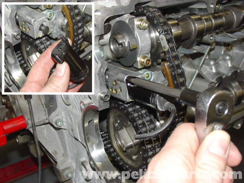 Porsche Boxster Camshaft Upgrade Chain Tensioner Replacement