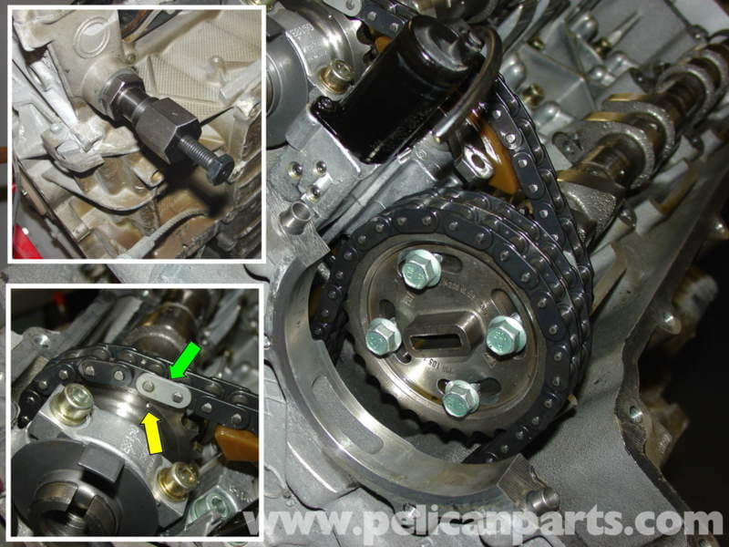 how to hold camshaft in place