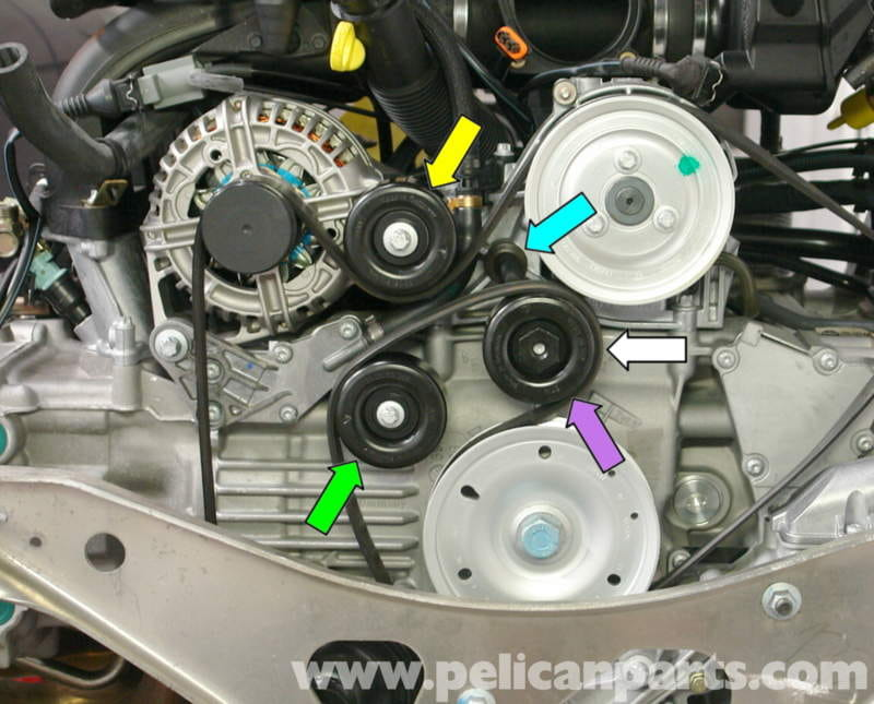 honda accord alternator wiring diagram porsche boxster idler belt pulley replacement 986 987  porsche boxster idler belt pulley replacement 986 987