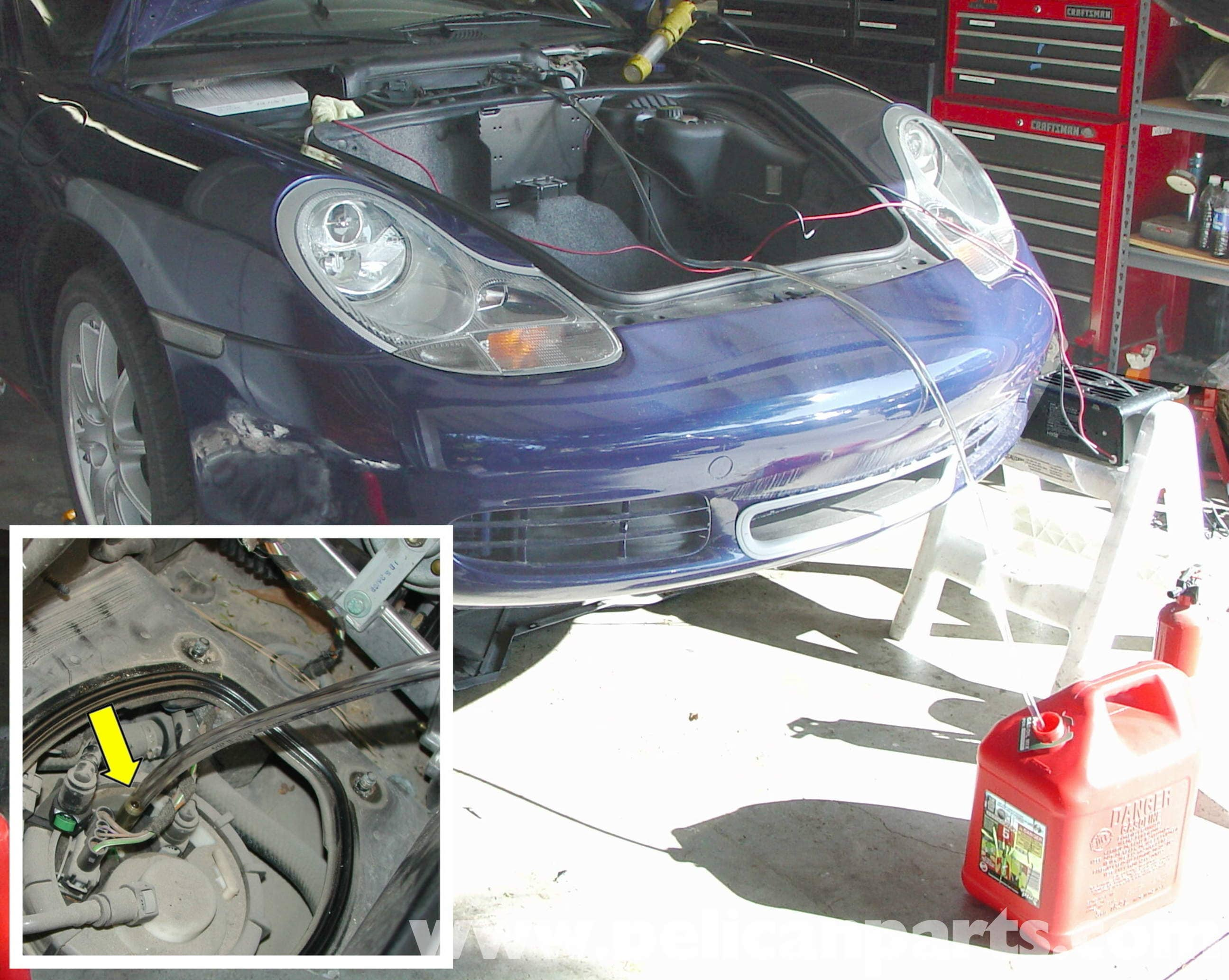 Porsche Boxster Fuel Pump Replacement 986 987 1997 08 2014 Dodge Ram 1500 Wiring Diagram Large Image Extra