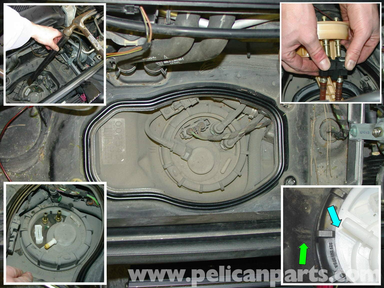 Porsche Boxster Fuel Pump Replacement 986 987 1997 08