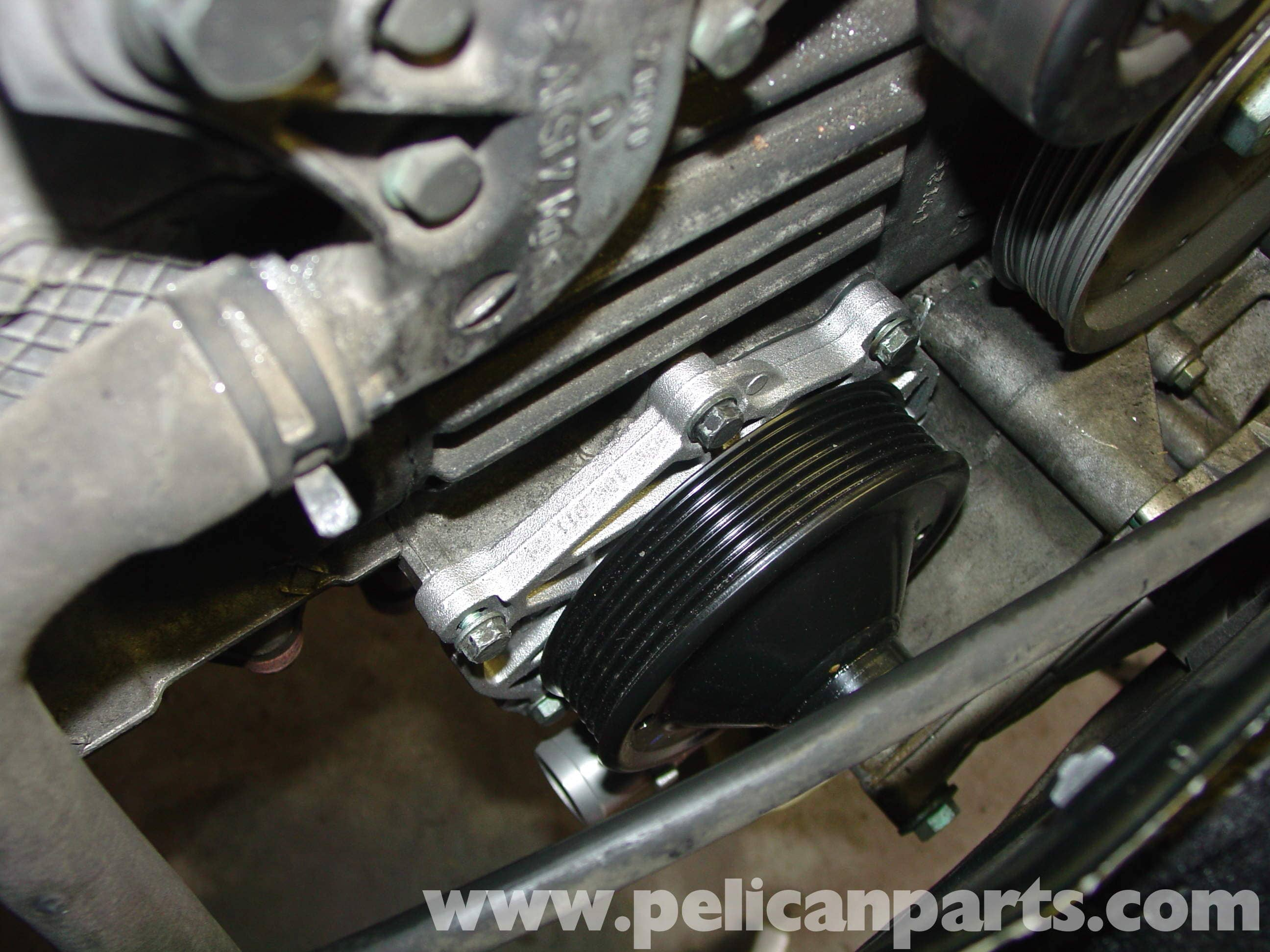 Porsche Boxster Water Pump And Thermostat Replacement