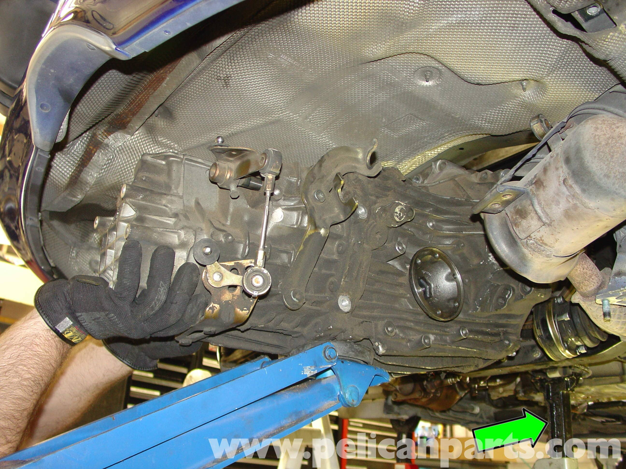 Porsche Boxster Transmission Removal 986 987 1997 08