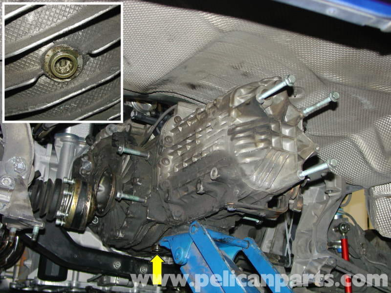 Porsche Boxster Differential Manual Transmission Fluid