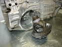 With the cover removed, you should be able to simply pull out the differential.