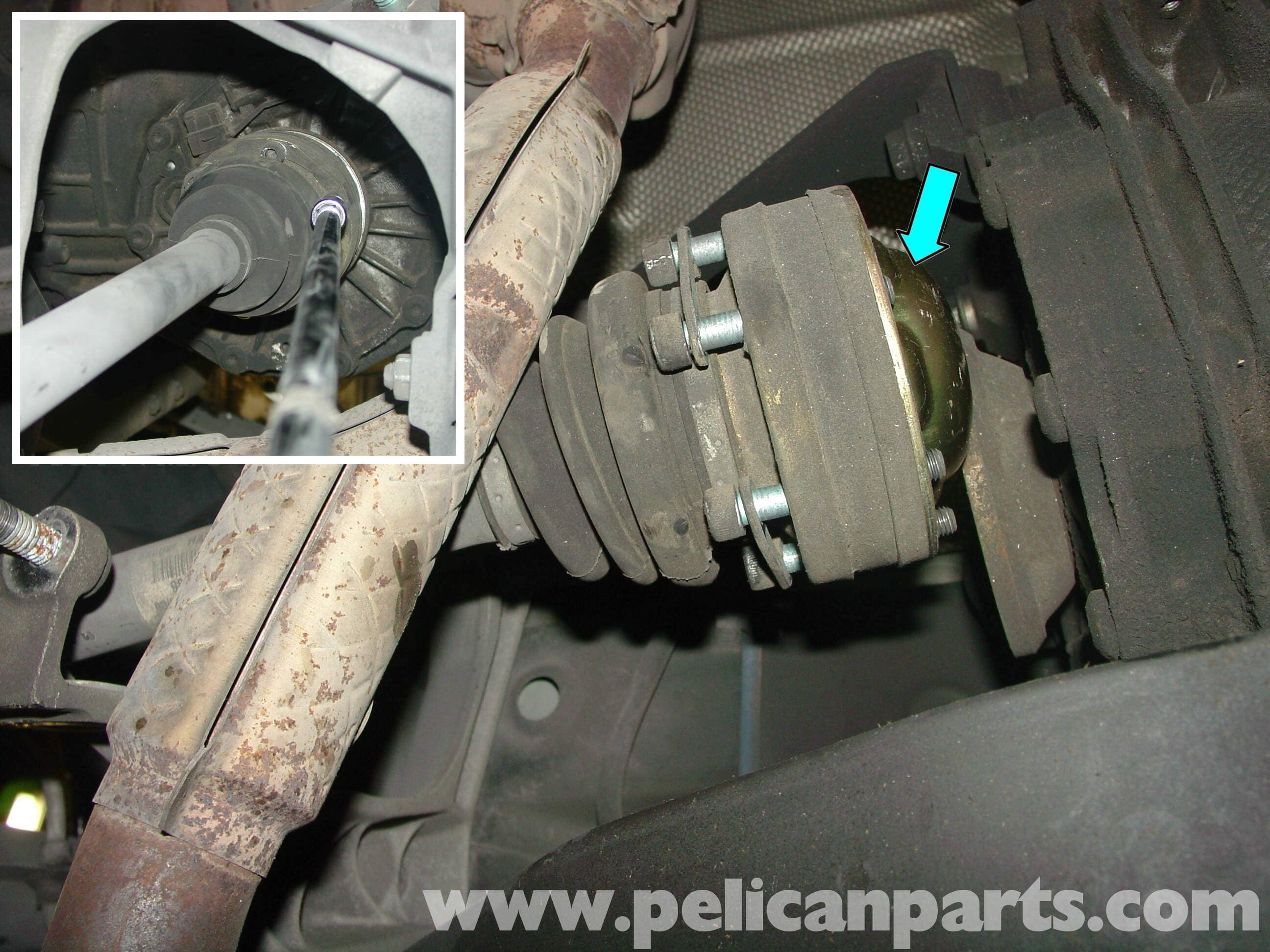 Porsche Boxster CV Joints and Boot / Axle Replacement - 986 / 987