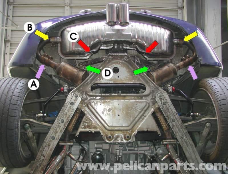 Porsche    Boxster    Muffler Replacement  986  987  199708